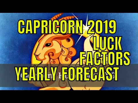Capricorn Horoscope 2019, Makar Rashi Lucky Factors, Colors