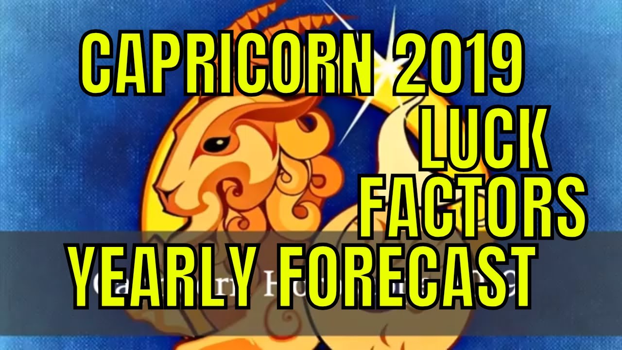 Capricorn horoscope 2019 makar rashi lucky factors - Lucky color of the year 2019 ...