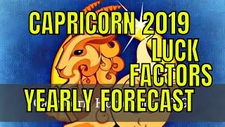 Capricorn Makar Rashi Lucky Factors And 2019 Horoscope. Capricorn 2...
