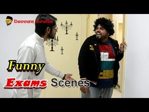 Exams....feat lala bhai haule || Deccan Drollz || hyderabadi comedy