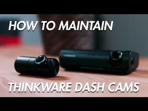 How To Maintain Thinkware Dashcams - BlackboxMyCar