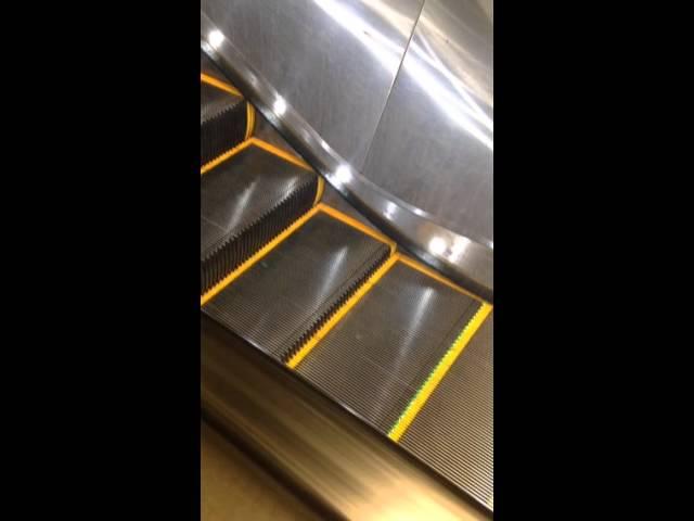 San Francisco Muni Broken Escalator