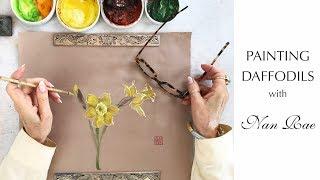 Painting Daffodils with Nan Rae