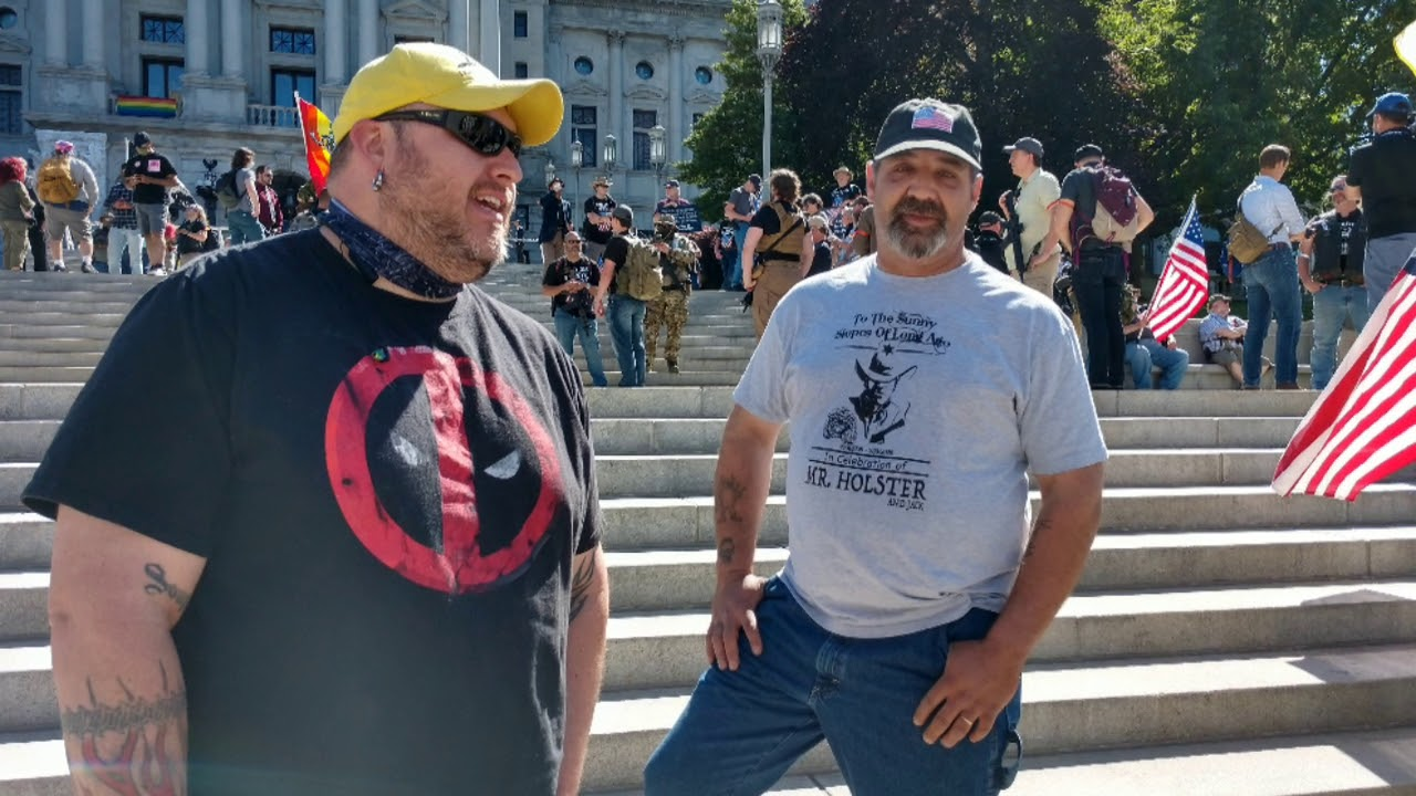 PA second amendment rally, June 8 2020