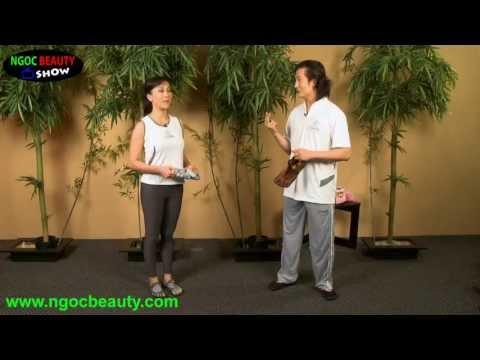 Mc Kỳ Duyên và bài thể dục giảm cân với sư phụ Tuấn Hùng