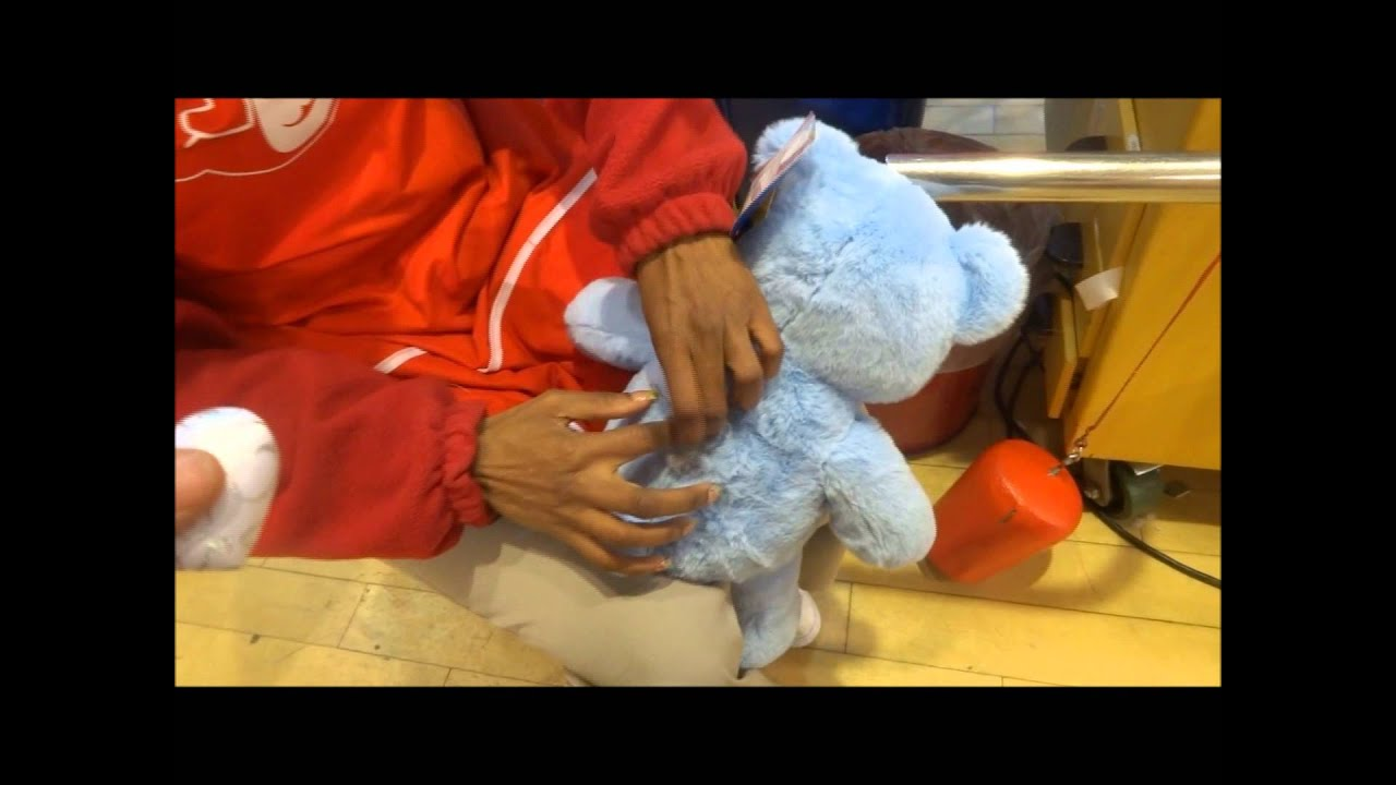 Limited Edition Cinderella Build A Bear First One Making It In Wrist Red Nyc Youtube