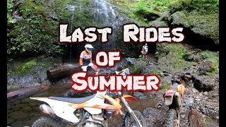 Last Rides of Summer (Dirtbike Riding: S5 E12)