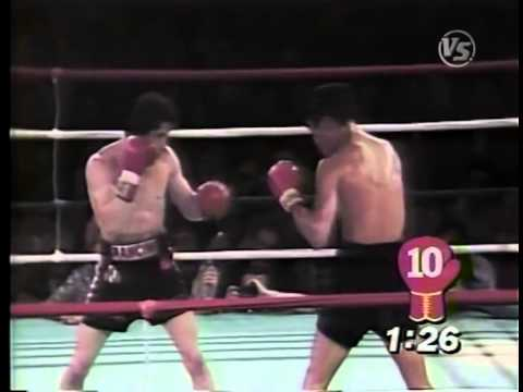1981-10-3 Alexis Argüello vs Ray Mancini