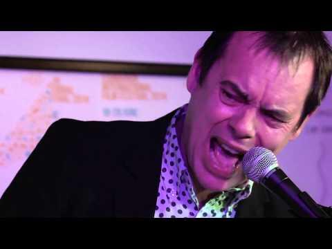 Gruff Rhys and Kevin Eldon perform at Edinburgh International Film Festival