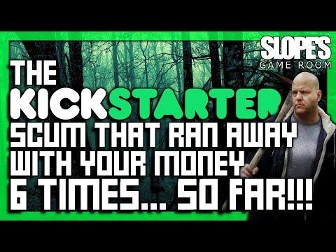 The Kickstarter Scum that ran away with your money 6 times... so far!! - SGR