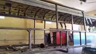 Bus Conversion Project Video 19-Slideout Construction