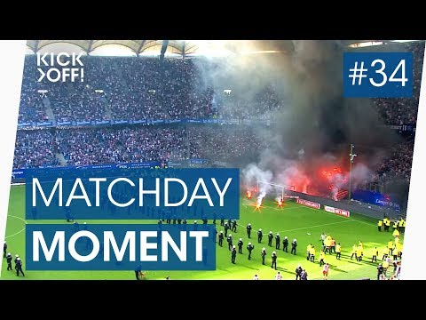 Hamburg in flames: fans riot after relegation | bundesliga highlights