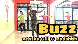 Buzz- Aastha gill feat Badshah DANCE Choreography | Vishal Nadiya