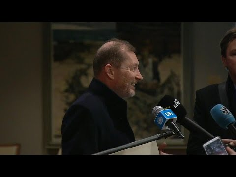 Security Council President on the Central African Republic, Libya & Haiti- Media Stakeout