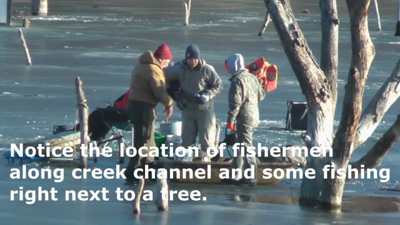 Iowa ice fishing video at brushy creek lake by willcfish for Ice fishing iowa
