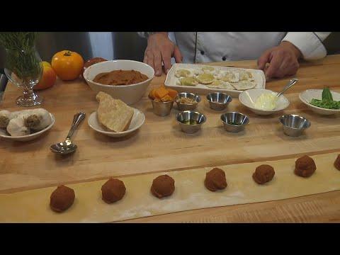 Kitchen At The Mission Pumpkin Ravioli