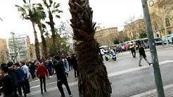 Barcelona - naisten yleislakko ja mielenosoitus