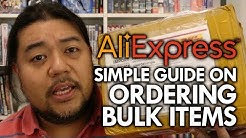 AliExpress Step by Step guide to Ordering Bulk Items #WholeSale #bulksale #phoneholders #aliexpress