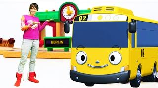Видео для детей #ВеселаяШкола про МАШИНКИ, поезда и автобус Тайо. Песенки для детей LEGO игрушки(Видео для детей с новым выпуском Веселой Школы с Машей #капукикануки про игрушки! Машинки, поезда и Автобус..., 2017-02-10T13:11:25.000Z)