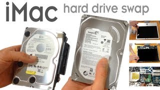 How to replace an iMac hard drive - A1224 24