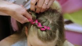 Обучение плетению! Урок №5! Плетение кос с канекалоном! Заплети Радугу
