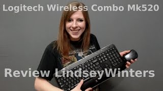 Logitech Wireless Combo Mk520 With Keyboard and Mouse | Review