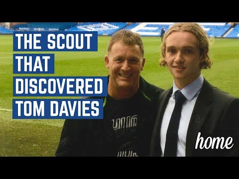 HOW TOM DAVIES WAS DISCOVERED AS A SCHOOLBOY