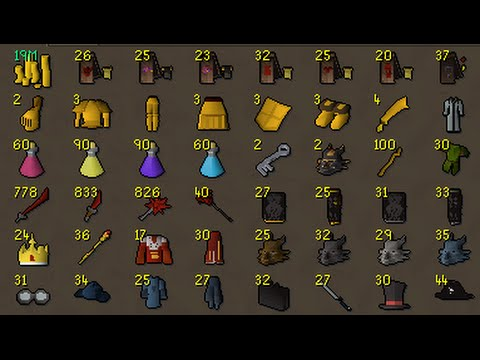 Average Elite clue reward based on 5000 clues (osrs)