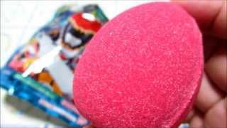 獣電戦隊キョウリュウジャー びっくらたまご bath powder Bath Bubble eggs toy thumbnail