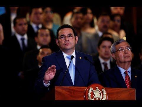 Jimmy Morales expulsa a la Cicig de Guatemala