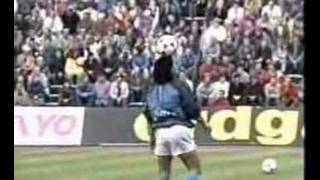 Diego Armando Maradona on Opus Live is Life - Napoli warm up