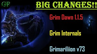 Big Changes coming to Grim Dawn 1.1.5 - Grim Internals and Grimarillion v73!