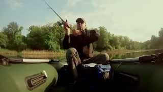 Рыбалка на JACKALL SQUAD MINNOW. GO PRO video.2014