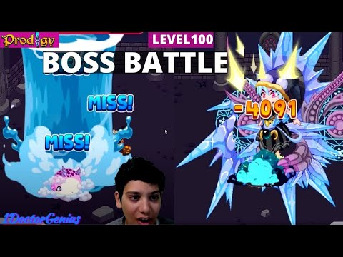 Epic Boss Battle!! Floor 100 and Mira Shade left me almost dead::Prodigy Math Game