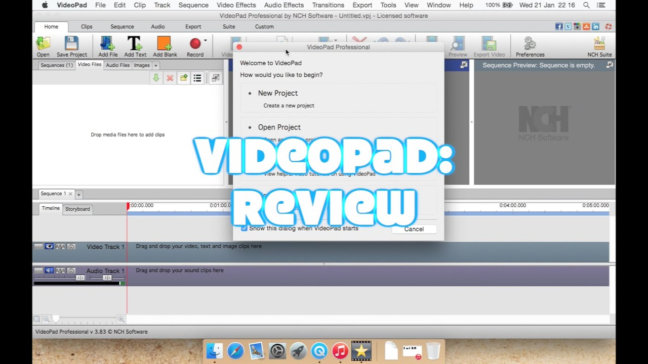 VideoPad Video Editor Professional: Review - YouTube