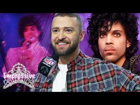 Justin Timberlake disrespects Prince during his Superbowl halftime show?