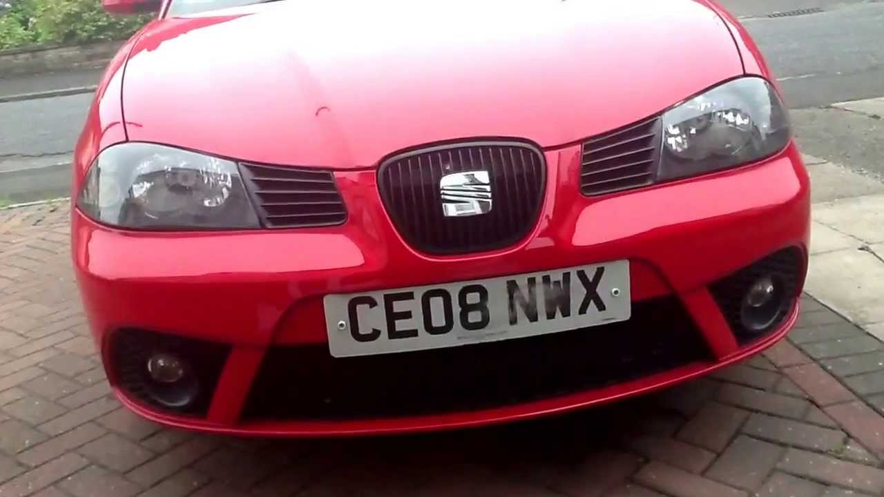Seat Ibiza Mk4 Grill Led Mod Works In Conjunction With The Interior Light You