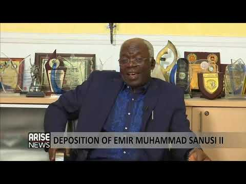 Femi Falana, SAN: The dethronement of Sanusi Lamido is illegal