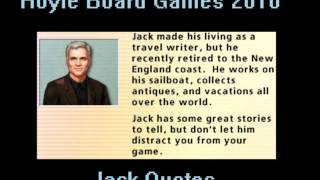 Hoyle Board Games 2010 - Jack Quotes