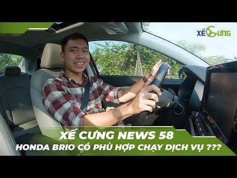 [Xế Cưng News 58] Xe giá rẻ Honda Brio có phù hợp chạy dịch vụ?