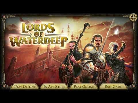 Let's Try: D&D Lords Of Waterdeep [Digital Boardgame]