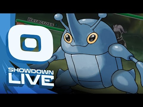 """FLAME ORB HERACROSS"" Pokemon Ultra Sun & Moon! UU Showdown Live w/PokeaimMD"