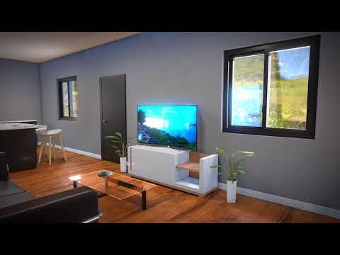 """blender-2.8-eevee-animation-interior-design-""""-architecture-"""""""