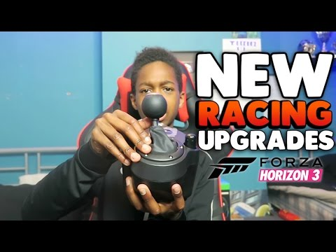 New FORZA RACING UPGRADES UNBOXING!! Logitech G920 Force Feedback Steering Wheel!!