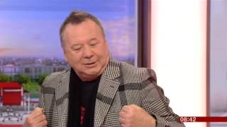 Simple Minds BBC Breakfast 2015