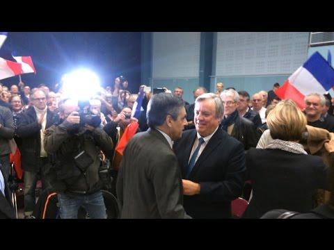 Meeting de François Fillon à Saint-Brieuc