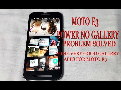 How to install Gallery app on Moto E3 Power |Moto E3 Gallery problem solved |