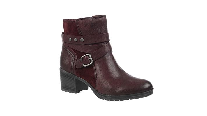 2a229a16cb50 Naturalizer Ringer Leather Belted Bootie - YouTube