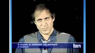 Adriano Celentano - Franca Rame (TG1 del 29/05/2013)