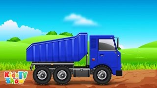 Dump Truck for Children - Monster Trucks for Kids - Kids TV Show